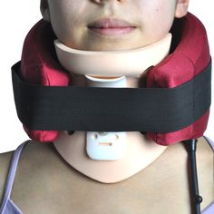 Neck support Pain Relief Air Traction Therapy vertebra neck brace treatment muscle strain instrument Cervical Collar Health Care