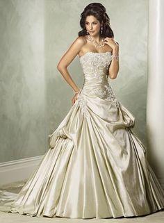 wedding dress: Corset Wedding Dresses for Modern Victorian Brides