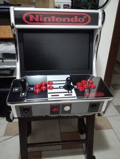 "Arcade Bartop Cabinet Nintendo style 19"" classic games - Panevėžys"