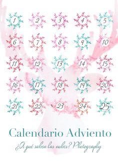 Calendario de Adviento de ¿A qué saben las nubes?