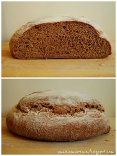 Życie smakiem się toczy...: Chleb orkiszowy razowy z miodem (na zakwasie żytnim)