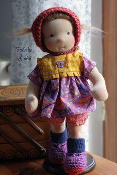 Sara, 30 cm waldorf doll by Fabrika Lalka on Dawanda