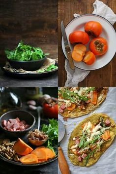 How often do you crave pizza and then think may be salad does make more sense? You eat the salad dreaming of the pizza. Well here's an option that meets you half way. #flatbread #pizza #salad #healthy