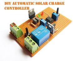 Hello friends Today I am back with another project called DIY AUTOMATIC SOLAR CHARGE CONTROLLER. It's an automatic switching circuit that used to control the charging of a battery from solar panels or any other source. It's a 555 based simple circuits the charge the battery when the battery charge goes below the lower limits, and stop charging when the battery reaches it's upper limit voltage