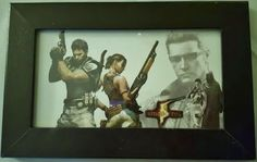 Rare Capcom/Blockbuster exclusive Resident Evil 5 framed limited edition print in Video Games & Consoles, Video Gaming Merchandise | eBay