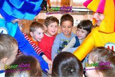 Детский праздник в детском саду, аниматоры Киев на день рождения