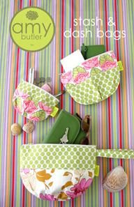 Amy Butler. I made these gorgeous toiletry bags for my kid's teachers. Very easy pattern - I am a self-taught beginner.