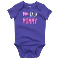 i <3 to talk as much as mommy. #carters