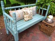 Cute Bench Out Of A Bed