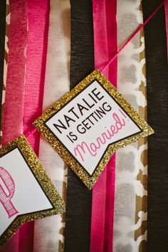 DIY Bachelorette party pink and gold photo booth! Bachelorette Party Planning, Bachlorette Party, Bachelorette Party Decorations, Bachelorette Weekend, Spinster Party, Lingerie Party, Photo Booth, Pink Black, Black Gold