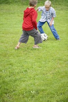 How to Coach Soccer for Seven-Year-Olds & Under