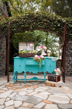 Vintage english garden wedding inspiration