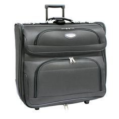 65f8a71e26 Travel Select Luggage Amsterdam Business Rolling Garment Bag