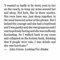John Green - Looking For Alaska
