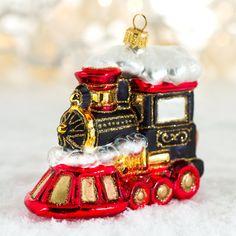 Juletog lokomotiv deluxe