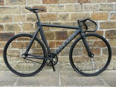 La Piovra Track Bike, built to UK velodrome spec., available from www.overspeedfixies.co.uk