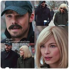 """Vincent and Catherine """"Operation Fake Date"""" Film Su, Vincent Keller, Catherine Chandler, Kristen Kreuk, Vincent And Catherine, Jay Ryan, Great Tv Shows, Big Love, Beauty And The Beast"""