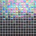 Kaleidoscope ColorGlitz Iridescent Glass Mosaic Tile, sold by the 1.15 s.f. sheet - Paramount PurpleParamount Purple