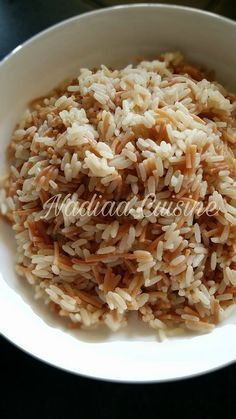 Lebanese rice at Cookeo - rice French Food, Rice Cooker, Risotto, Food Inspiration, Nom Nom, Bakery, Cooking Recipes, Potatoes, Gluten Free