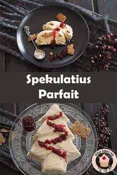 Speculae Parfait - * what bakes me smile * - Simple but delicious ice-cold dessert, perfect for Christmas: Spekulatius Parfait - Parfait Desserts, Mini Desserts, Unique Desserts, Cold Desserts, Winter Desserts, Pudding Desserts, Apple Desserts, Christmas Desserts, Healthy Desserts