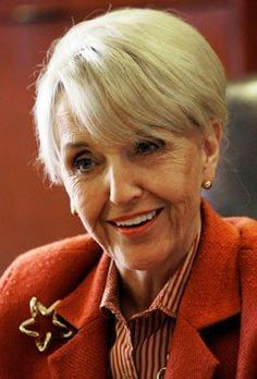 Jan Brewer, Governor of Arizona..I have tremendous respect for this great Lady. God Bless her...I wish we had more leaders as courageous as she is.