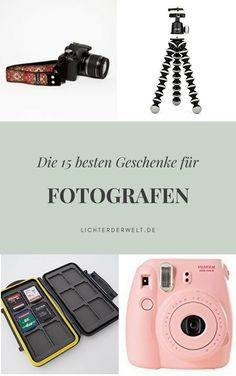 Noch auf der Suche nach einem Geschenk? Wir haben 15 perfekte Geschenke für Fotografen!
