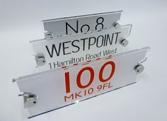ACRYLIC HOUSE SIGN NEWS ...  De-signage are proud to be top of the 'Modern House Sign' market in the UK. Design-led signs, high polished edges, attention to detail, Don't be fooled by immitations de-signage SIGNS really do have the EDGE......  http://www.de-signage.com/rx351-bespoke-house-signs.php       And you can buy today SPECIAL OFFER ONLY £75.00 JUST CLICK HERE --->