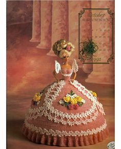 Miss October The Cotillion Collection  Fashion Doll  Crochet Pattern  Annies Attic.
