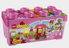 LEGO DUPLO Creative Play 10571 All-in-One-Pink-Box-of-Fun: Toys Amazon http://fave.co/2czFV01