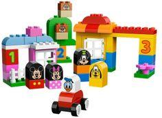 MICKEY SI PRIETENII (10531) Joaca-te si construieste impreuna cu Mickey Mouse, Minnie Mouse, Goofy, Pluto, Donald Duck si Chip & Dale folosind setul Mickey si prietenii!