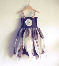 Girl's Fairy Dress 3T Upcycled Children's by BrokenGhostCouture? I want this for the girls.....