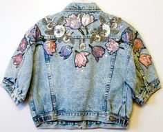 Denim Inspiration -- I think I'd like to see this kind of applique on a non-denim base....: