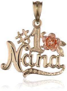 "Yellow and Rose Gold "" Nana"" Pendant Jewelry Sets, Diy Jewelry, Gold Jewelry, Jewelery, Fashion Jewelry, Women's Fashion, Simple Outfits, Jewelry Branding, Luxury Jewelry"