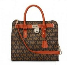 Michael Kors Hamilton Brown Tote Bag $125