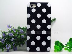 5/5S SE 4'' Creative Design Polka Dot Silicon Soft TPU Cover Cases For Apple iPhone5/5S Case For iPhone 5 SE iPhone 5S Shell