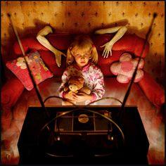 Medo - Ensaio fotográfico apresenta piores pesadelos que as crianças têm - Literatortura