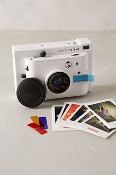 Lomo' Instant Camera & Lens Collection #anthrofave #anthropologie