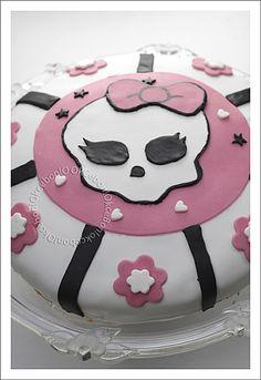 Gâteau Anniversaire Monster High