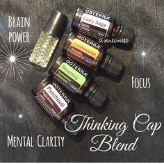 "Dr. Michelle Markham on Instagram: ""Foggy Brain? Having a hard time getting and staying on task?Thinking Cap Blend: Helps focus for studying and homework.…"""