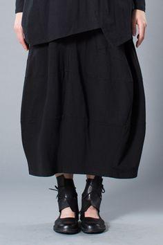 Milan Skirt in Black Tokyo
