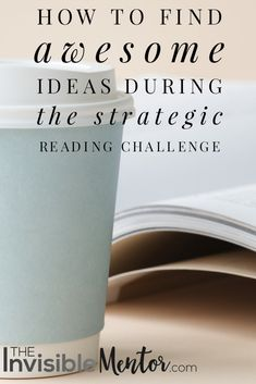 Wouldn't it be great if you could get great ideas from the books you read? I want to learn as much as I can about how to find ideas. I have read several books, trying to figure out how to spot great ideas. I host the Strategic Reading Challenge and I want participants to benefit from the time they invest reading books to learn key skills. This article shows them how to find awesome ideas during the reading challenge. I did a lot of research on the topic and have read several books. Visit my…