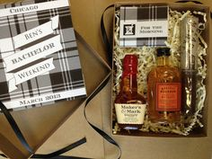 Just Lovely: For the boys - Bachelor Party Favors