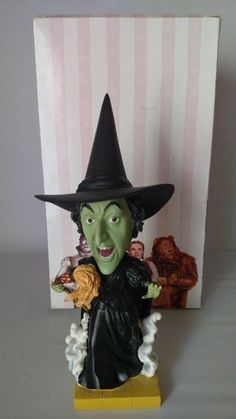 Wizard Of Oz Bobblehead Wicked Witch Warner Bros Westland Gift Collectible