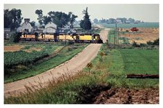 CNW, Ankeny, Iowa, 1981 Railroad Photography, Art Photography, Union Pacific Train, Train Pictures, North Western, Railroad Tracks, Ankeny Iowa, Westerns, Chicago