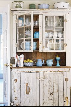 Rustic Cupboardscountryliving