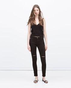 Zara Por Pantalones Rodilla La Rotos E2w9hyeibd trCsxBhQd