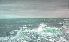 Dateline, ÖL auf Leinwand,  100 x 140 cm, Malerei  von Willi Gottschalk Germany, Gallery, Outdoor, Google, Oil On Canvas, Water, Painting Art, Searching, Outdoors