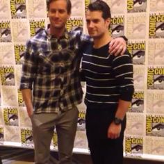 NEW VIDEO  Henry Cavill & Armie Hammer on SDCC red carpet for The Man From UNCLE. #manfromuncle #HenryCavill #SDCC thx... #HenryCavill #Superman #ManofSteel #TheManFromUNCLE #NapoleonSolo #BatmanvSuperman #DawnofJustice #ClarkKent #CharlesBrandon #London #ArmieHammer #IllyaKuryakin #AliciaVikander #GabbyTeller #JaredHarris #GabyTeller #GuyRitchie #ElizabethDebicki #LucaCalvani