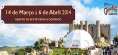 Está de volta o Festival Internacional de Chocolate de Óbidos de 14 Março a 6 Abril 2014 | Escapadelas | #Portugal #Obidos #Chocolate #Festival #2014