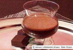 Ünnepi csoki flip Chocolate Fondue, Pudding, Cooking Recipes, Drinks, Desserts, Foods, Drinking, Tailgate Desserts, Food Food